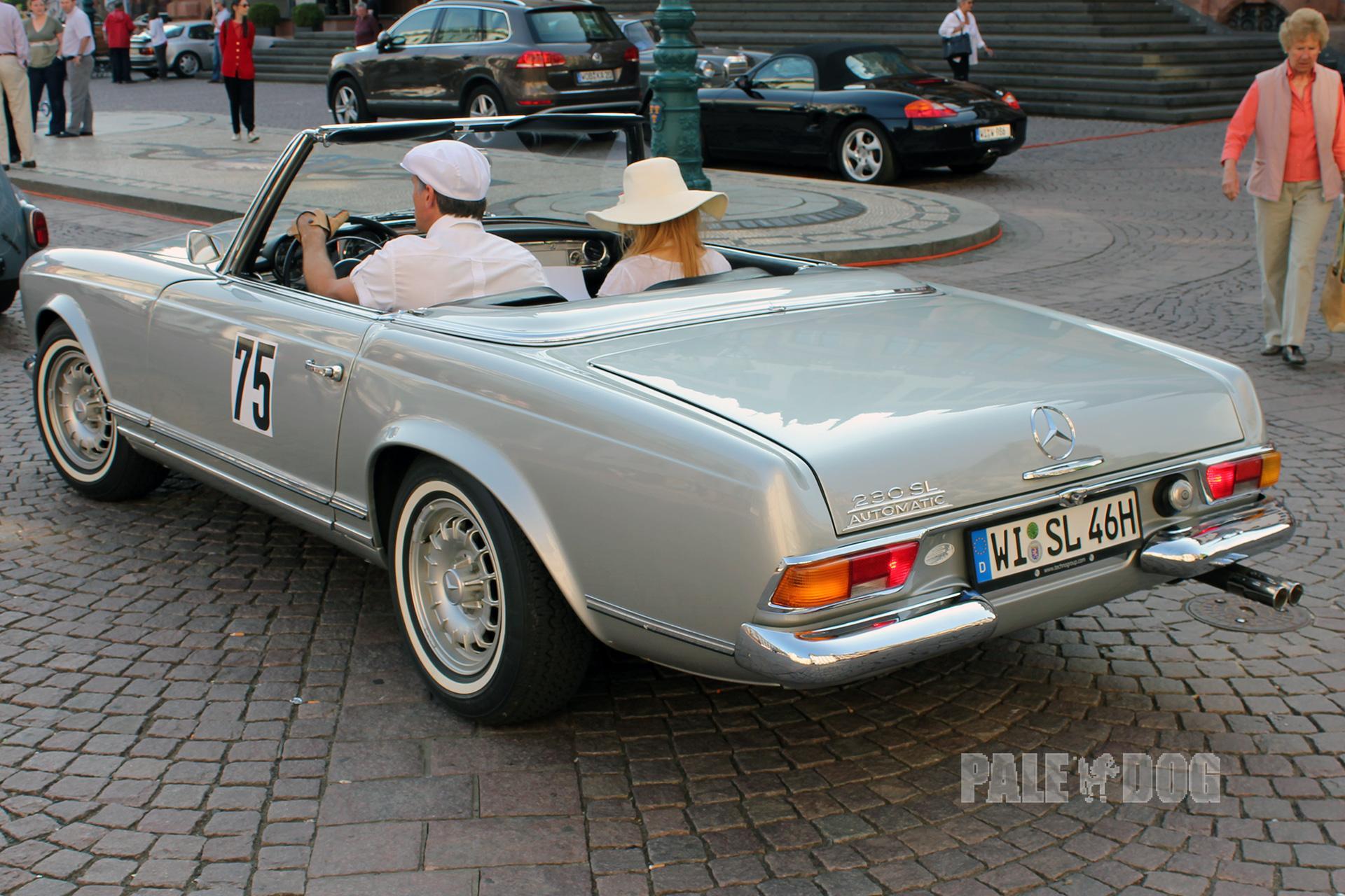 1964 mercedes benz 230 sl rear view 1960s paledog for 1964 mercedes benz 230sl