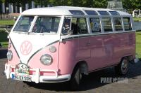 "1967 VW Type 2 ""Samba"" T1 (front view)"