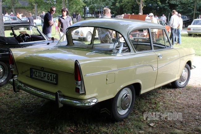 1961 Borgward Arabella (rear view)