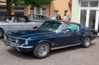 1968 Ford Mustang Fastback (front view)