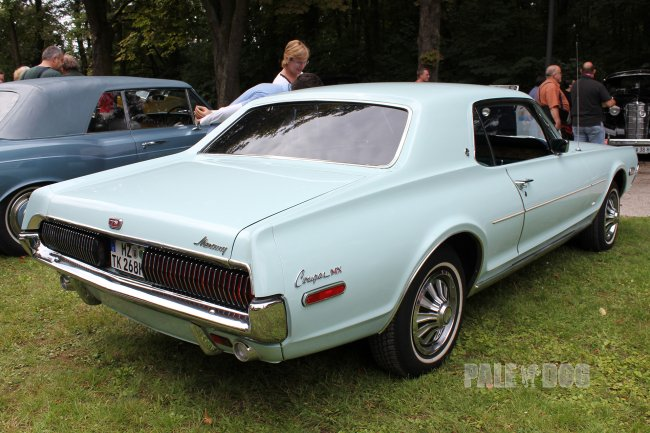 1968 Mercury Cougar Hardtop Coupe (rear view)