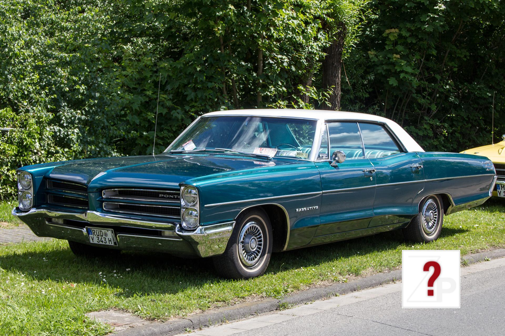 1966 Pontiac Star Chief Executive Sedan Front View