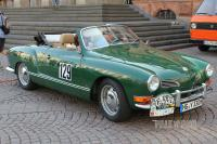 1971 VW 1600 Karmann-Ghia Typ 14 Cabriolet (front view)