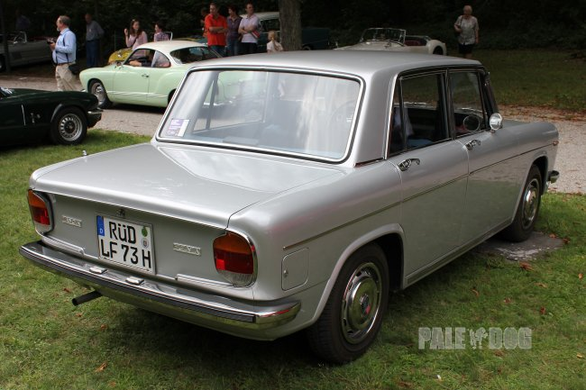 1972 Lancia Fulvia Berlina (rear view)