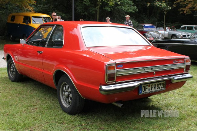 1973 Ford Taunus XL 1600 (rear view)