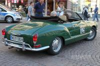 1971 VW 1600 Karmann-Ghia Typ 14 Cabriolet (rear view)