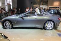 2011 Maserati GranCabrio (side view)