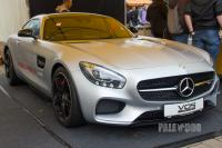 2015 Mercedes-Benz AMG GT S (front view)