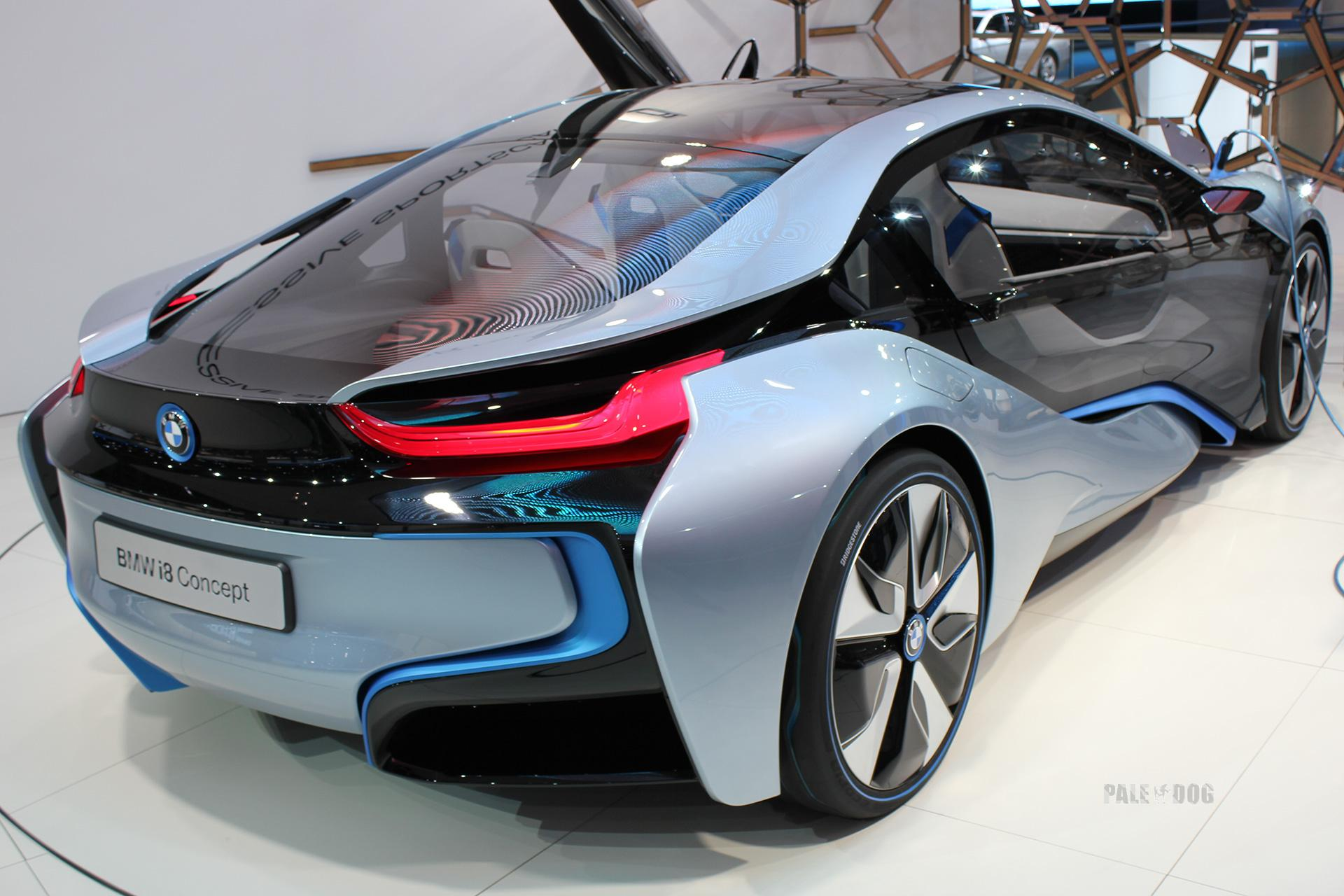 2011 Bmw I8 Concept Rear View 2010s Paledog Photo Collection