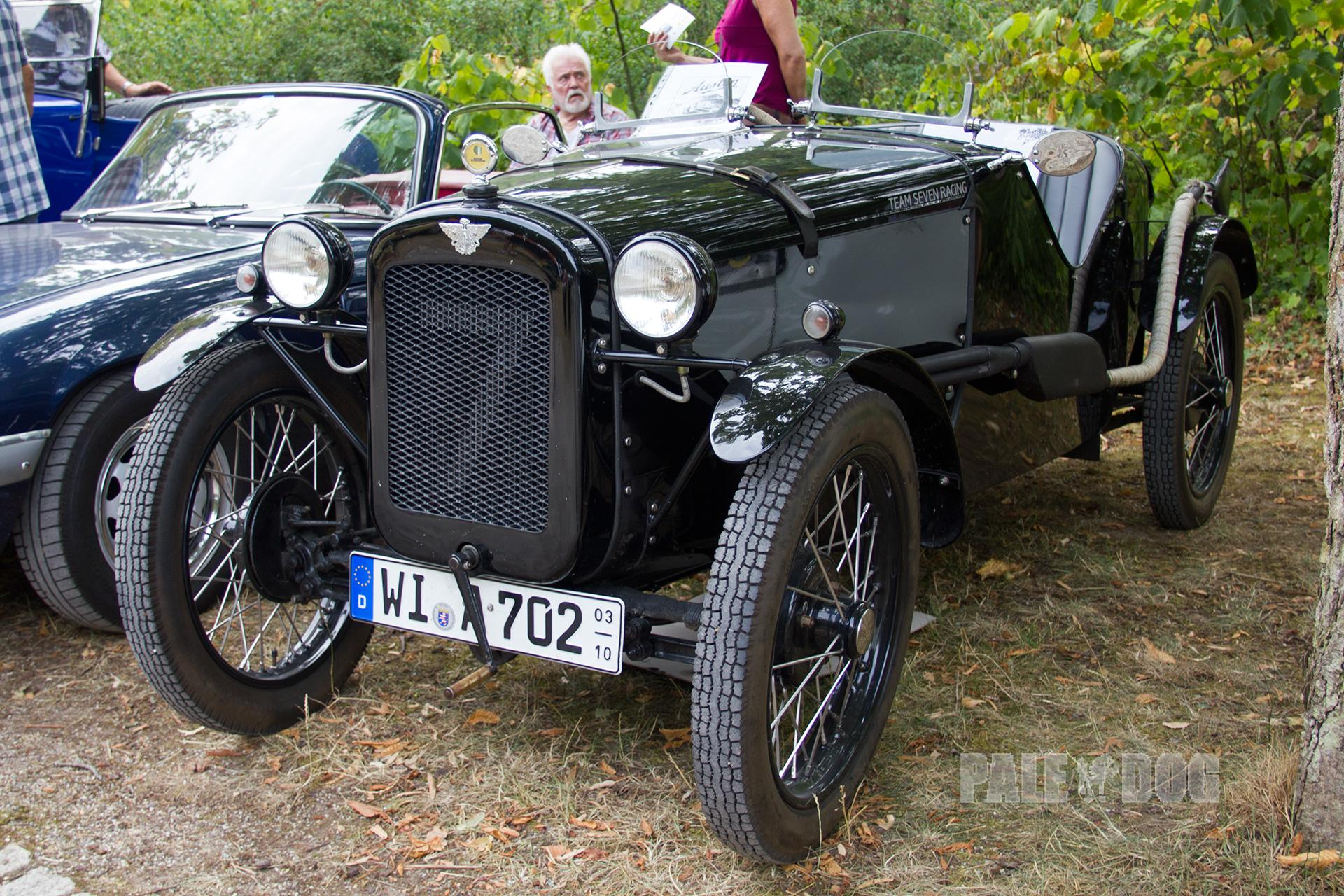 82 1932 Austin Seven By 1930 Saloons Had Overtaken Open Tourers Wiring Diagram Ulster Special Front View