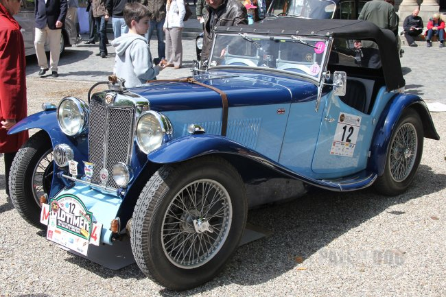 1934 MG ND Magnette Sport (front view)