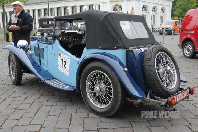 1934 MG ND Magnette Sport (rear view)