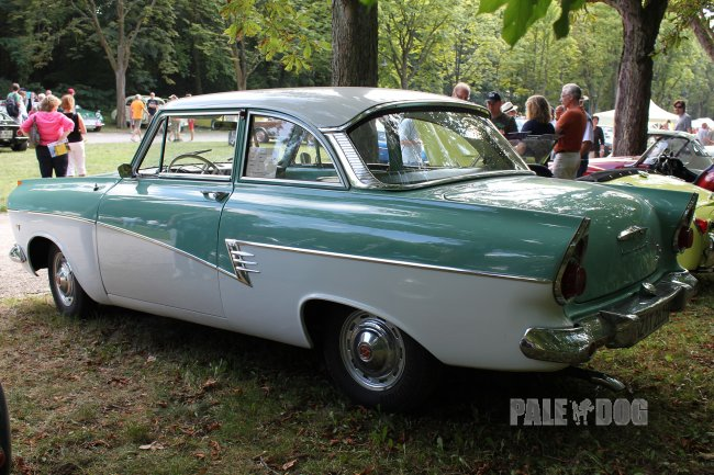 1960 Ford Taunus 17m P2 (rear view)