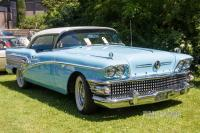 1958 Buick Special Riviera Coupe (front view)