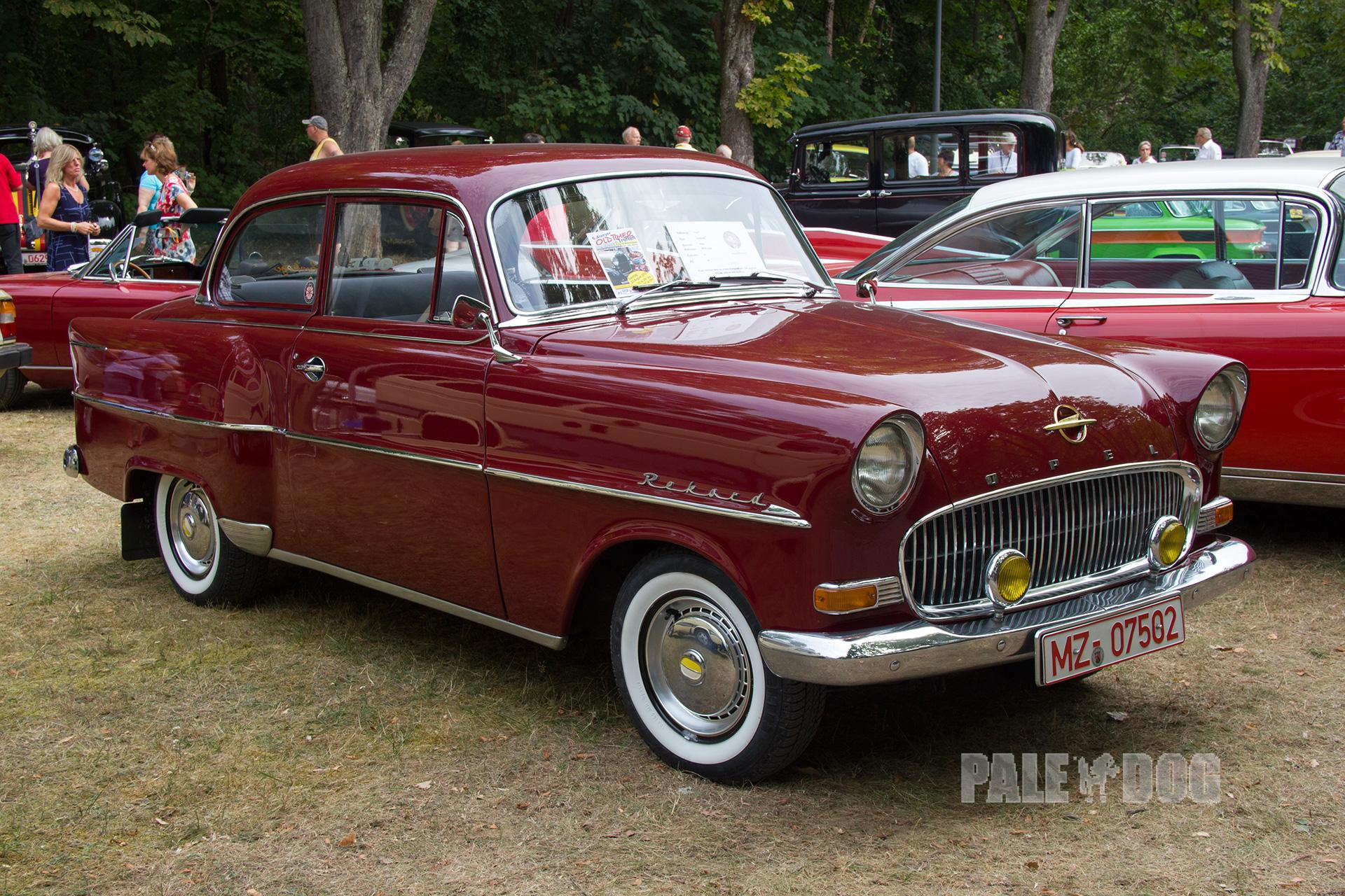 Images of a Opel Olympia Rekord Sedan 1.5 Manual, 45hp, 1956