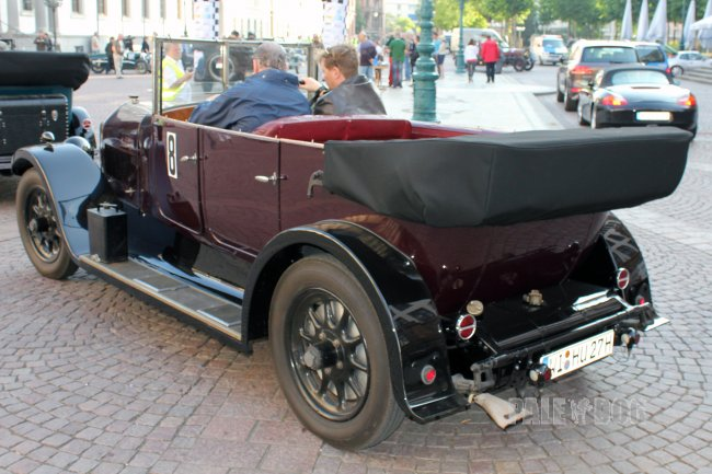 1927 Humber 20/55 HP Open Tourer (rear view)