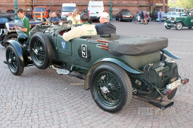 1928 Bentley 4½ Litre Le Mans Tourer (rear view)