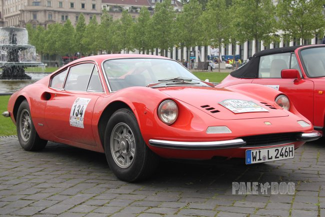 1970 Dino 246 GT (front view)