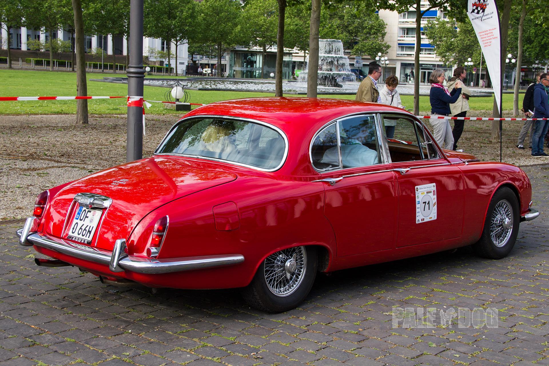 1966 Jaguar S-Type 3.8 Saloon (rear view)   1960s ...