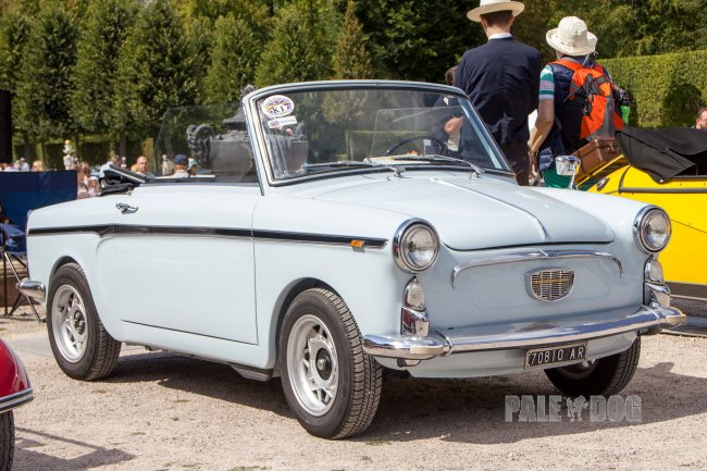 1966 Autobianchi Bianchina Cabriolet Series 3 (front view)