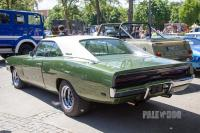 1969 Dodge Charger (rear view)