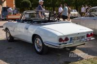 1965 Glas 1300 GT Cabriolet (rear view)