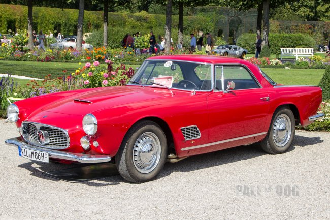 1962 Maserati 3500 GT (front view)