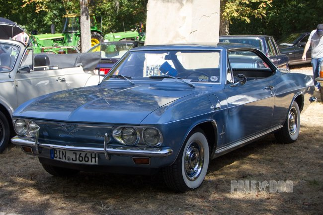 1966 Chevrolet Corvair Corsa Coupe (front view)