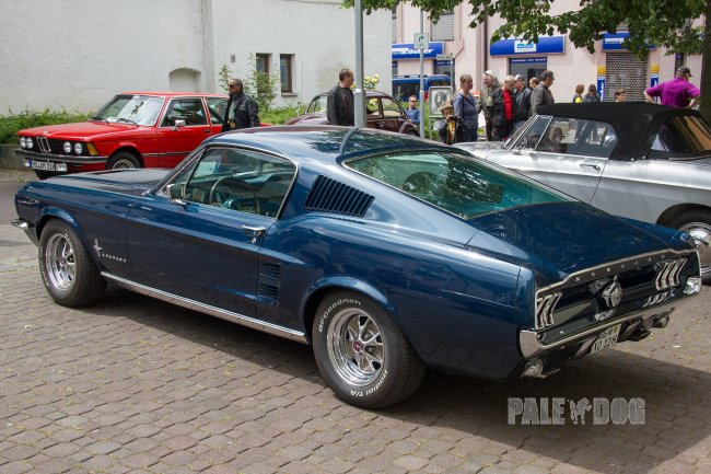 1968 Ford Mustang Fastback (rear view)