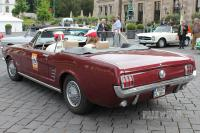 1966 Ford Mustang Convertible Coupe (rear view)