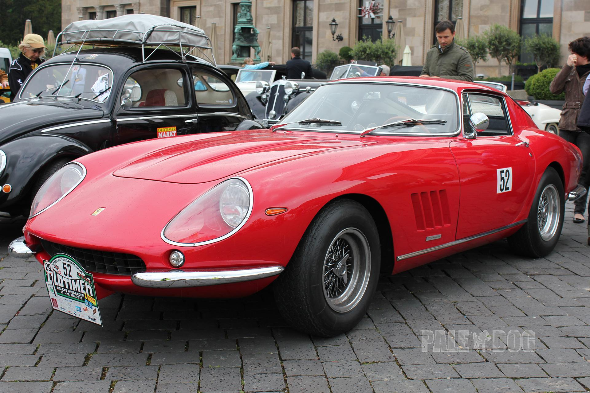 1966 Ferrari 275 Gtb 4 Front View 1960s Paledog Photo Collection