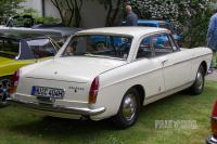 1966 Peugeot 404 Coupé (rear view)