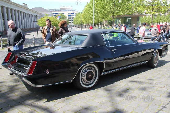 1970 Cadillac Fleetwood Eldorado (rear view)