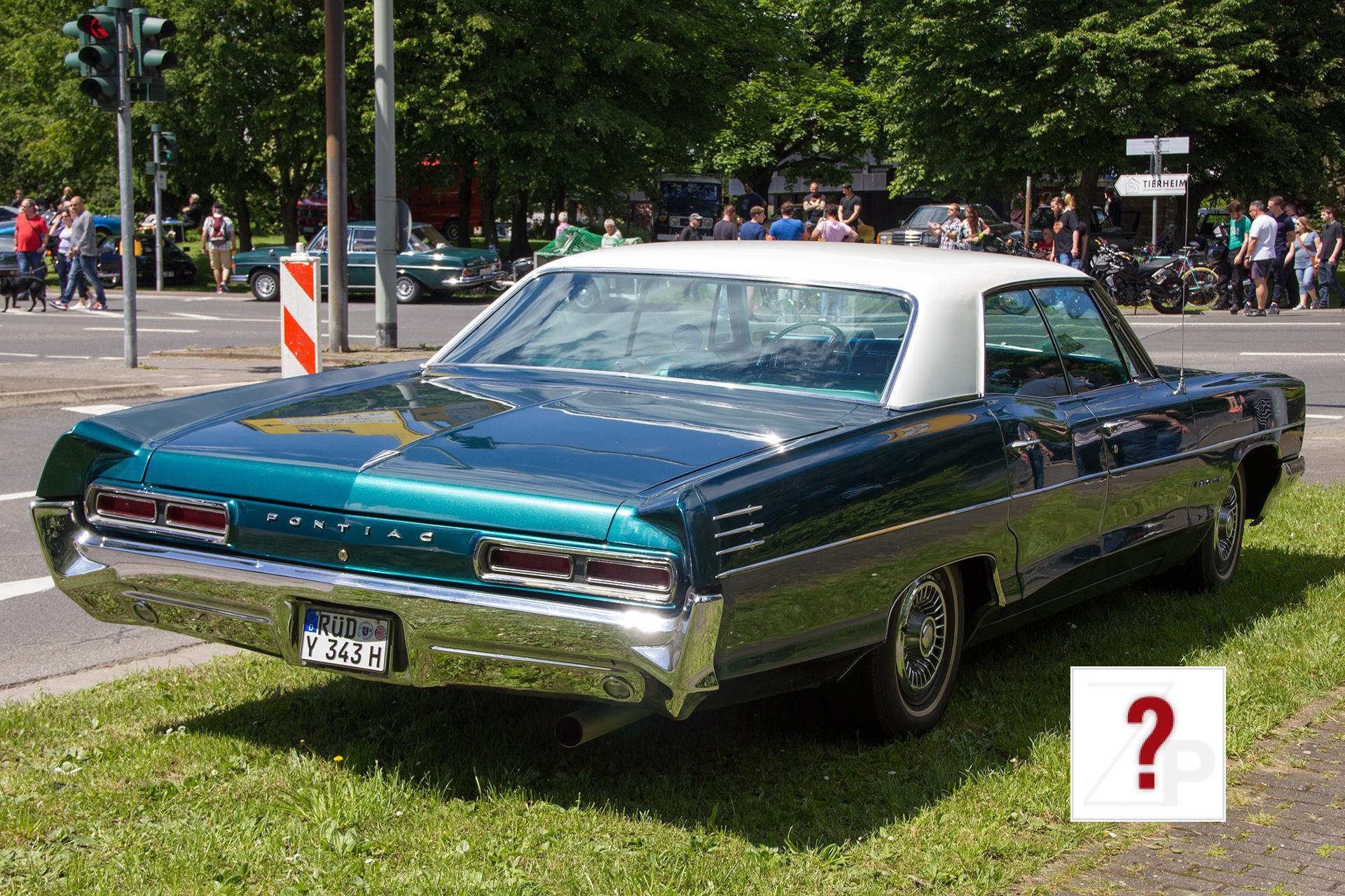 1966 Pontiac Star Chief Executive Sedan Rear View