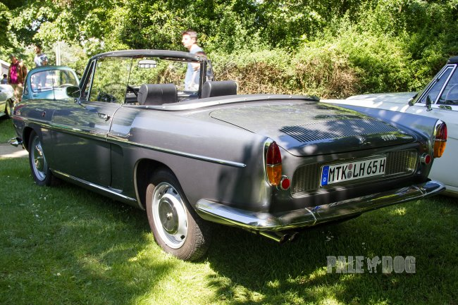1965 Renault Caravelle 1100 Cabriolet (rear view)