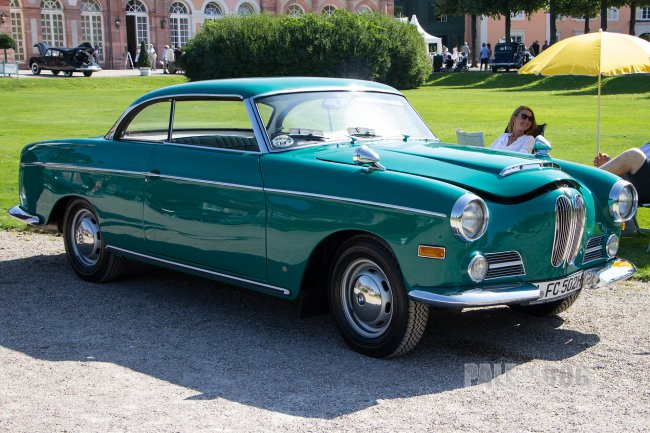 1961 BMW 502 F Autenrieth-Coupé (front view)