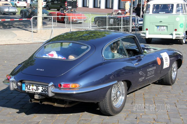 1962 Jaguar E-Type Series 1 Coupé (rear view)