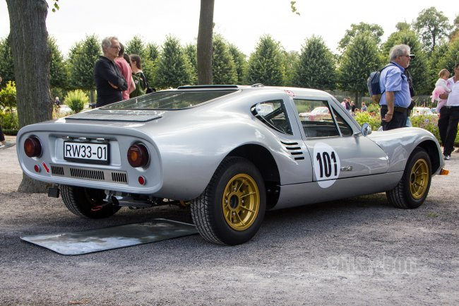 1970 Melkus RS 1000 (rear view)