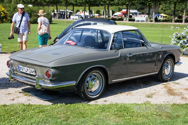1967 VW 1600 Typ 34 Karmann-Ghia-Coupé (rear view)