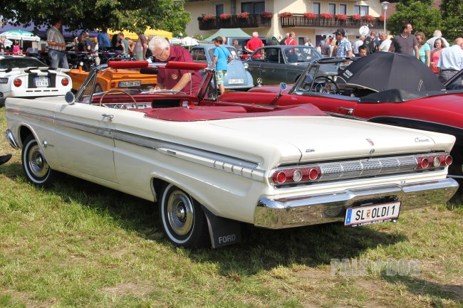 1963 Mercury Comet Caliente Convertible Coupe (rear view)