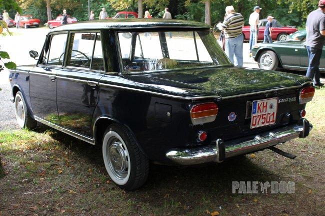 1965 fiat 1500 berlina rear view 1960s paledog photo