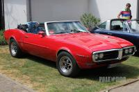 1968 Pontiac Firebird Convertible Coupe (front view)