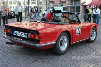 1970 Triumph TR 6 Roadster (rear view)