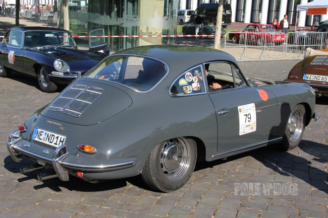 1964 Porsche 356 C SC Coupé (rear view)