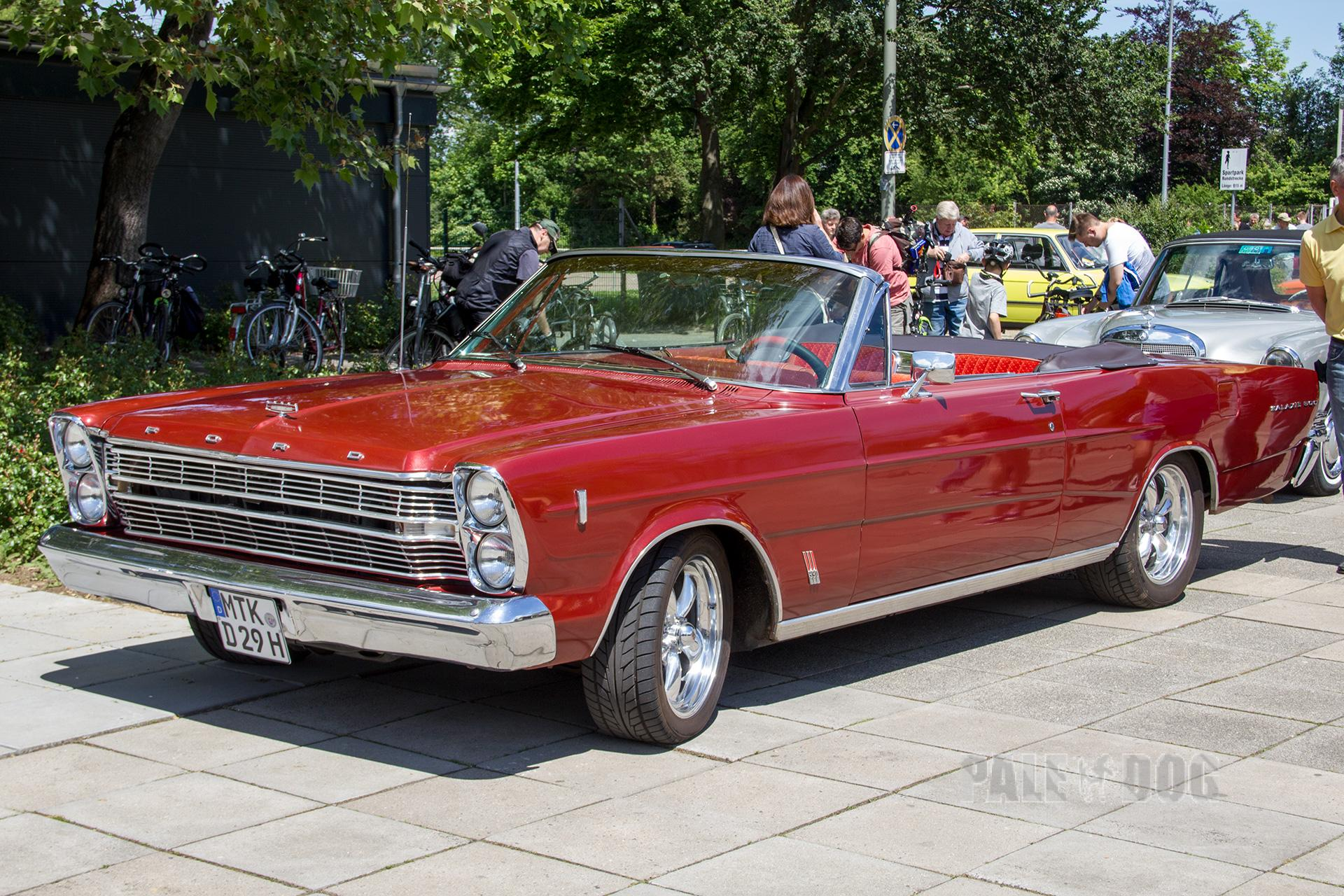 1966 Ford Galaxie 500 Convertible Front View 1960s Paledog Photo Collection