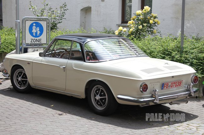 1964 VW 1500 S Karmann-Ghia Typ 34 Coupé (rear view)