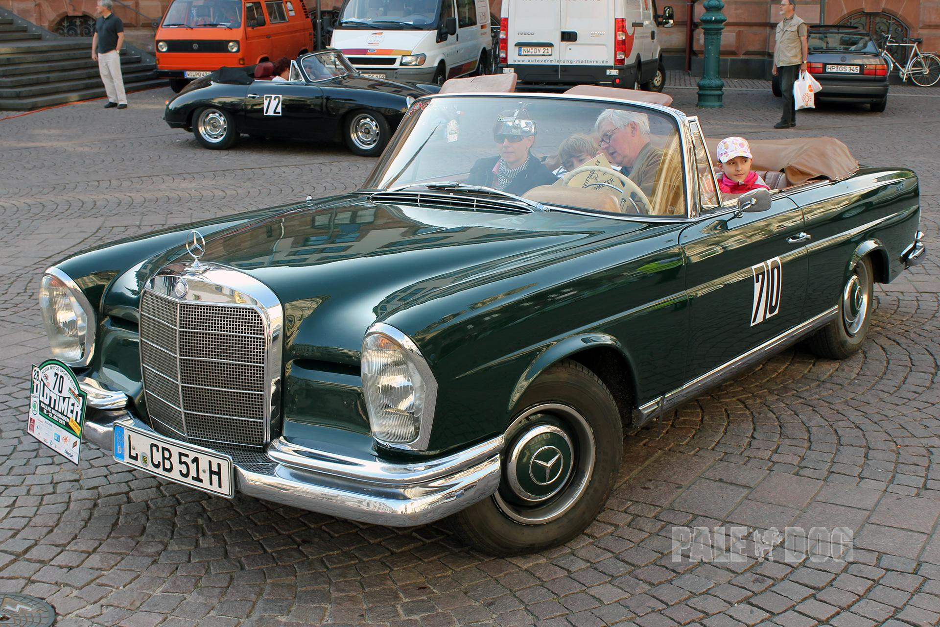 1962 mercedes benz 220 seb cabriolet front view 1960s for 1962 mercedes benz