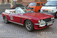 1974 Jensen Interceptor III Convertible (front view)
