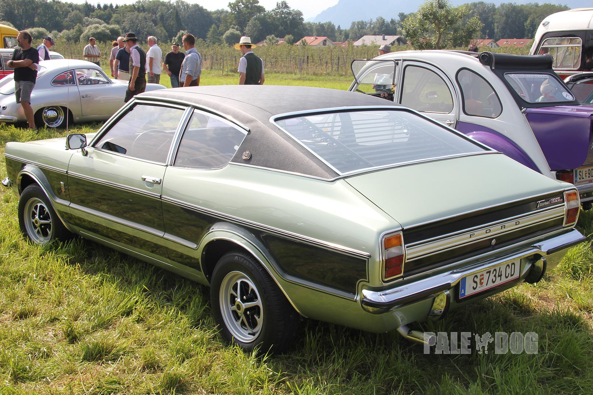 1971 Ford Taunus 2300 Gxl Coup 233 Rear View 1970s