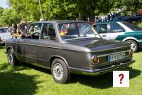 1972 BMW 1602 (rear view)